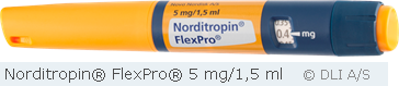 Norditropin® FlexPro® 5 mg/1,5 ml